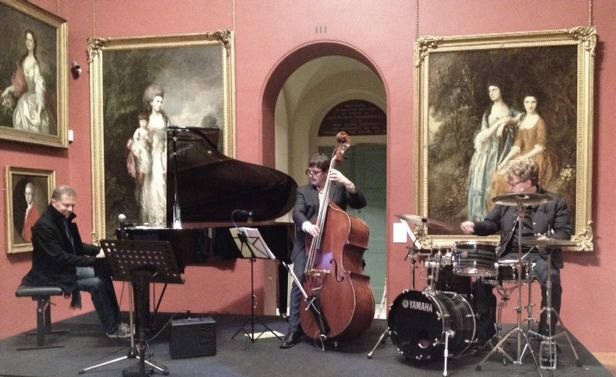 Dominic Alldis Trio at Dulwich Picture Gallery.